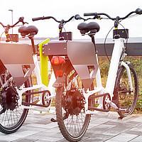 Ladestation für E-Bikes